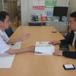 岡山県内の中小零細企業の被害状況について、岡山県産業労働部の池永産業企画課長から話を伺いました。