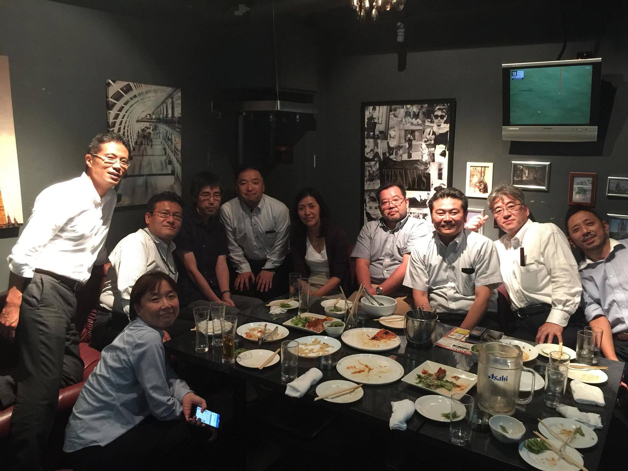 東京大学文Ⅲ2組の同窓会。