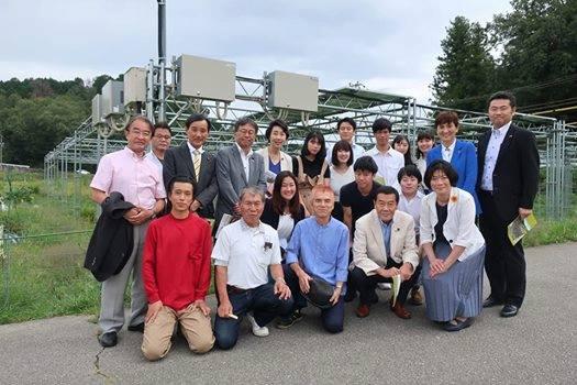 立憲民主党「エネルギー調査会」で、兵庫県宝塚市のソーラーシェアリングを視察に行きました。