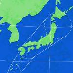 台風21号が近づいています