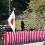 陸上自衛隊三軒屋駐屯地の63周年記念式典に出席しました。