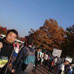 いよいよおかやまマラソン当日の朝を迎えました。