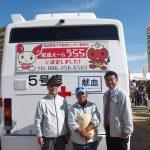 岡山ドームで行われた「わくわく子ども祭り」に献血と 盲導犬 の普及促進活動をさせていただきました。