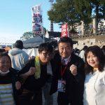 毎月第一日曜日恒例の京橋朝市に参加しました。