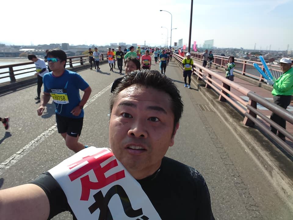 30km岡南大橋。
