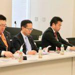 事務局次長を務める「オンラインゲーム・eスポーツ議員連盟」総会が開かれ、日本eスポーツ連合の岡村秀樹会長と、日本オンラインゲーム協会の植田修平代表からお話を伺いました。