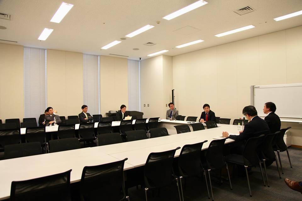 「科学技術・イノベーション議員連盟」にて、「中央銀行デジタル通貨について」お話を伺いました。