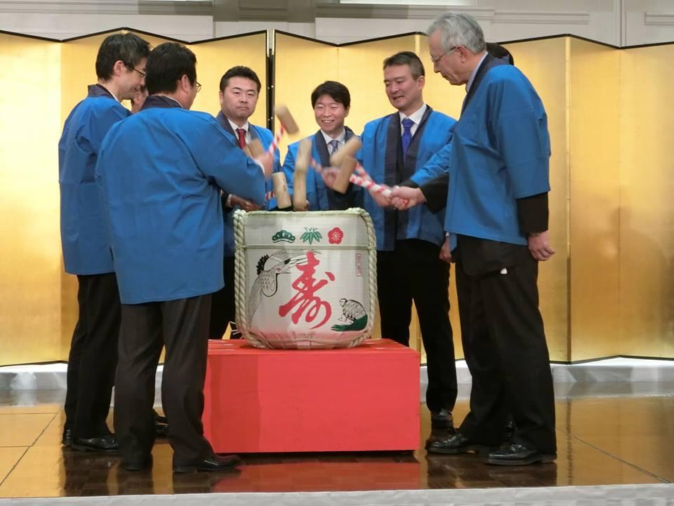 連合岡山の新年会に出席し、立憲民主党を代表してご挨拶させていただきました。