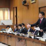 本日(2月21日)10時15分~55分まで、総務委員会で質問に立ちます。