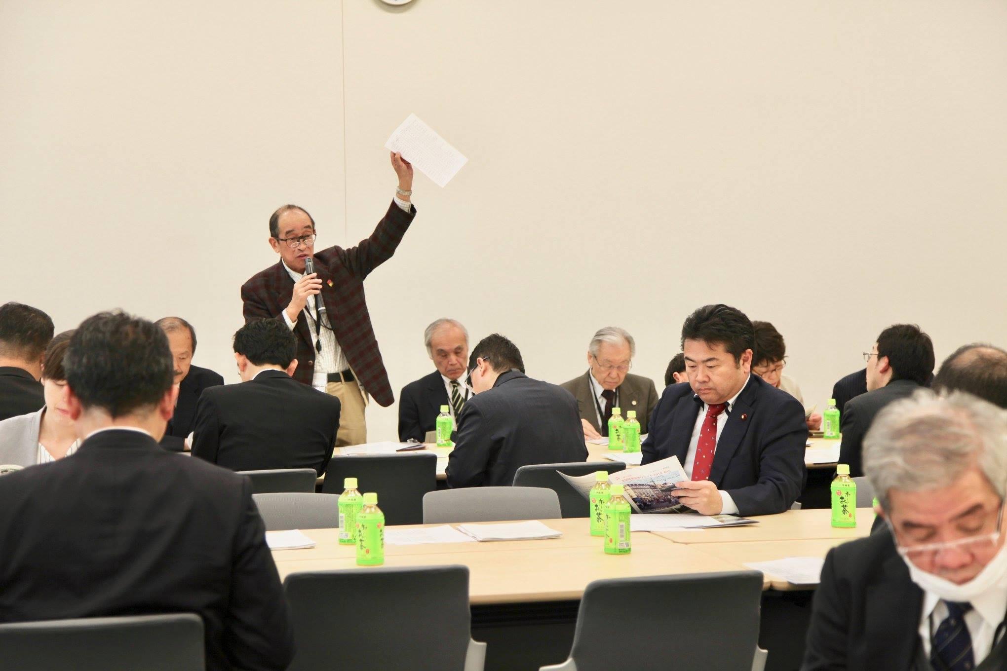 新交通システム推進議員連盟(LRT推進議員連盟)総会に出席しました