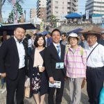 毎月第一日曜日は京橋朝市からスタート。