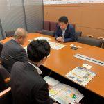 岡山県の片山総合政策局長が議員会館にお見えになり、「国に対する提案」を説明に来られました。