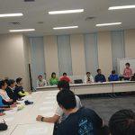 超党派「ジョギング・マラソン振興議員連盟」の設立総会が開かれました。