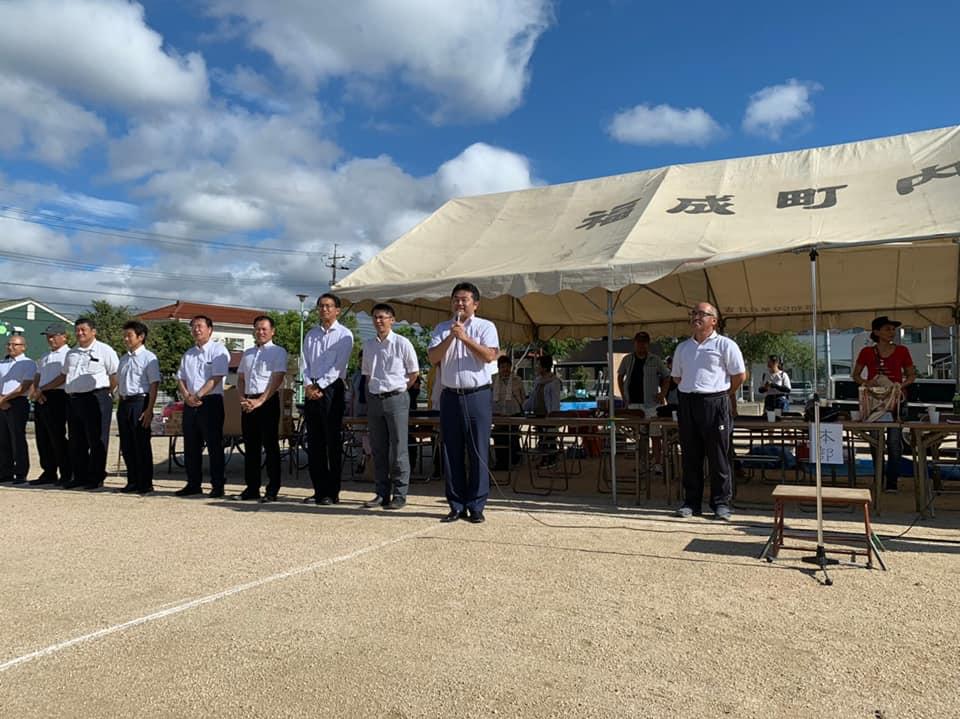 日曜日は朝一番、福成町内会運動会の開会式に出席した後、ひたすら訪問活動