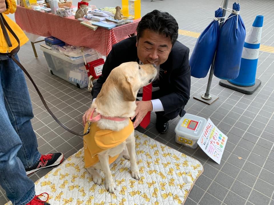 岡山ドームで開催されたわくわく子ども祭りへ。
