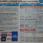 資金繰り支援(無利子・無担保融資)(新型コロナ対策その15)