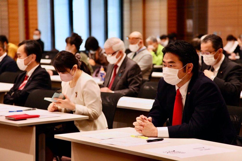 シン国民民主党 第2回憲法調査会 参加風景