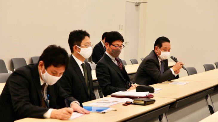 郵便法改正について 日本郵便(株)の諌山副社長とJP労組の増田委員長 石川書記長からお話を伺いました