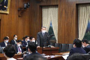 小此木八郎 内閣府特命担当大臣(防災、海洋政策)に被災者生活再建支援法改正の審議について衆議院災害対策特別委員会にて申し上げました01