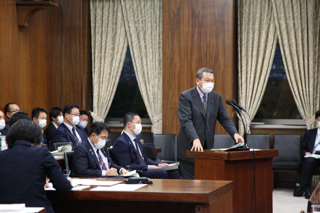 「災害対策の司令塔「防災省」を創設し消防団と連携すべき」と衆議院災害対策特別委員会にて小此木八郎内閣府特命担当大臣(防災、海洋政策)と提案しました01
