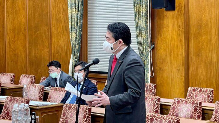 予算委員会分科会第2分科会(総務省担当) 関心の高い「総合支援資金」「消防操法訓練廃止」「NHK受信料値下げ」「NHK日曜討論の不公平」等について質疑を行いました。